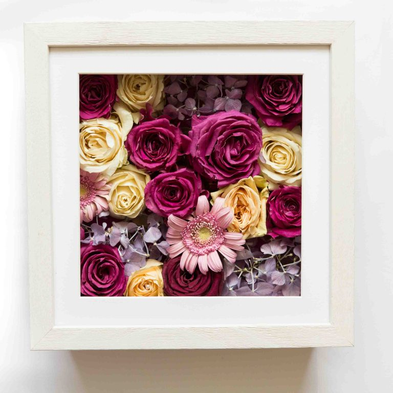 Wedding Bouquet Framed Preserved 3