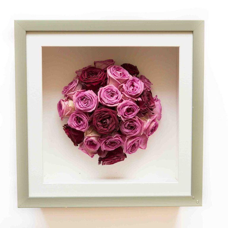Wedding Bouquet Framed Preserved 4