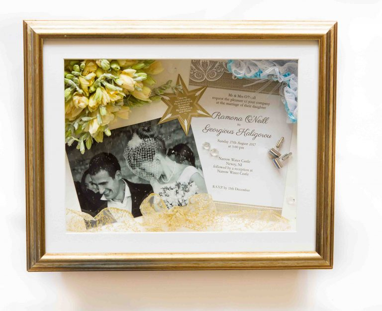 Wedding Bouquet Framed Preserved 7