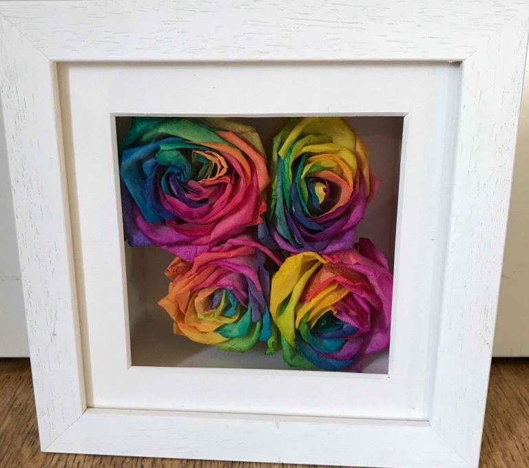 Wedding Bouquet Preservation rainbow